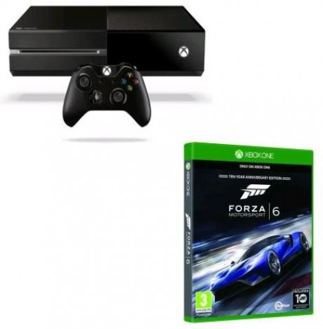 console microsoft xbox one 500 go forza motorsport 6 xbox one e multitech solution